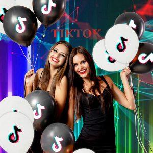 Fiesta TikTok Tik Tok cumpleaños temática