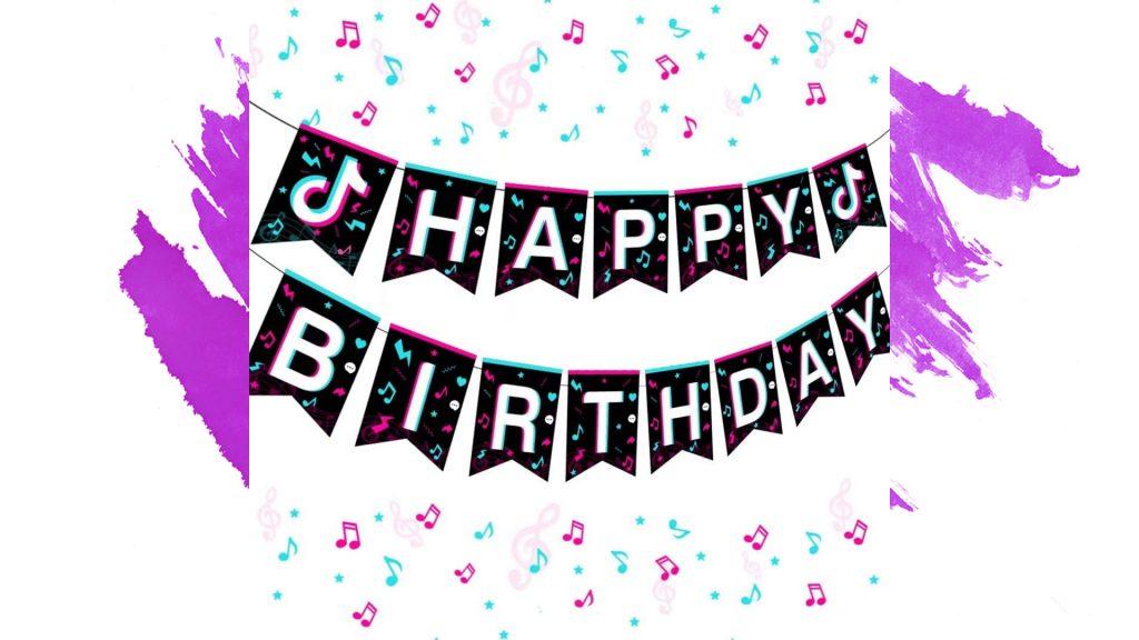 cumpleaños niña fiesta decoracion tiktok tik tok